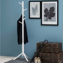 Bremen coat hanger - white
