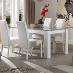 Modena Weiss/beton Tisch 190