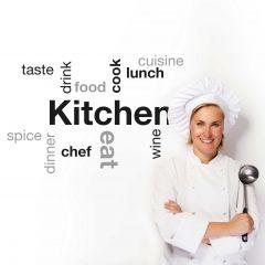 Wandaufkleber Küche