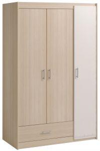 Kleiderschrank Charly 3 Türen