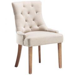 2er-Set Stühle Fancy - sandfarben