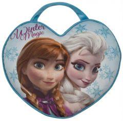 2-in-1 Kissen und Tasche Anna & Elsa