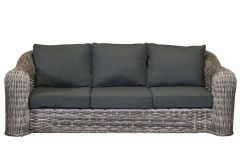 Davinci wicker 3-seater sofa