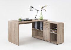 Schreibtisch Lex - braune Eiche