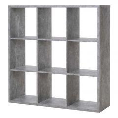 Raumteiler Max 9 Fächer - Beton