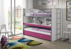 Hochbett Bonny 80 - pink