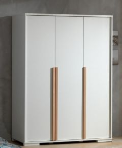 LONDEN 3DOOR WARDROBE WHITE