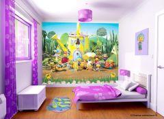 Wandbild Fifi und die Blumenkinder