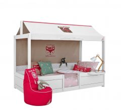 4-in-1 Bett mit Dach Wild Child