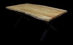 Esstisch SoHo - 200x100 cm - Akazie / Eisen
