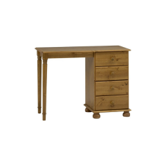 Desk RICHMOND 375  - Dressing table with 4 drawers - STAINED LACQUER