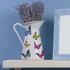 Aufkleber Bunte Schmetterlinge