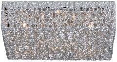 Deckenleuchte Wire 45x45cm - 12x20w G4