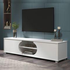 TV-Schrank Dost 160cm mit 2 Türen - weiß