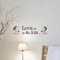 Wandaufkleber Liebe liegt in der Luft