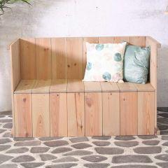 Toronto lounge bench FSC 100%