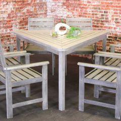 Sunlight Triangular Table meranti