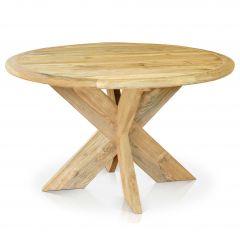 Malta teak table Ø 130cm FSC Recycled