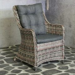 Harvey Wicker Chair Dark