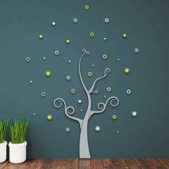 Wandaufkleber 3D Tree - Schaumstoffaufkleber