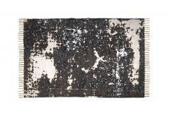 Teppich - Baumwolle - 180x120 cm - natur / beige / braun