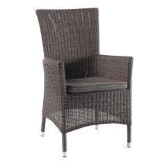 Firenze dining chair high back round cord nat.+cus