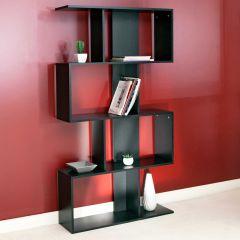 Bücherregal Sigma - schwarz