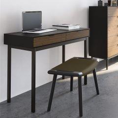 Desk SOMA 077 - Desk - BLACK/ESPRESSO