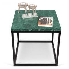 Couchtisch Prairie - grüner Marmor/Stahl