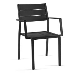 Gucci stacking chair full alu charcoal mat