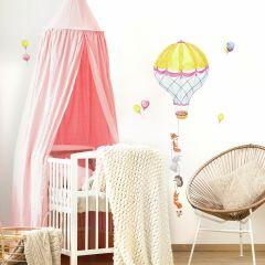 Wandaufkleber Heißluftballon Pals