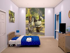 Wandbild Shrek