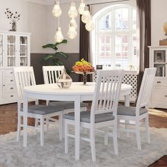 Diner table VENICE 425 - Dinner table - EXTRA WHITE