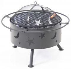 Feuerschale & Barbecue Mond