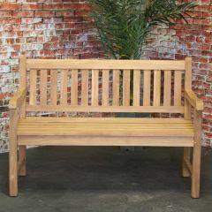 Dalton teak bench 130cm