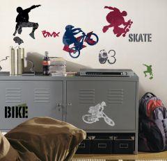 RoomMates Wandsticker - Extremsportarten