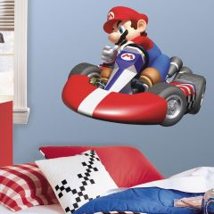 RoomMates Wandsticker - Mario Kart