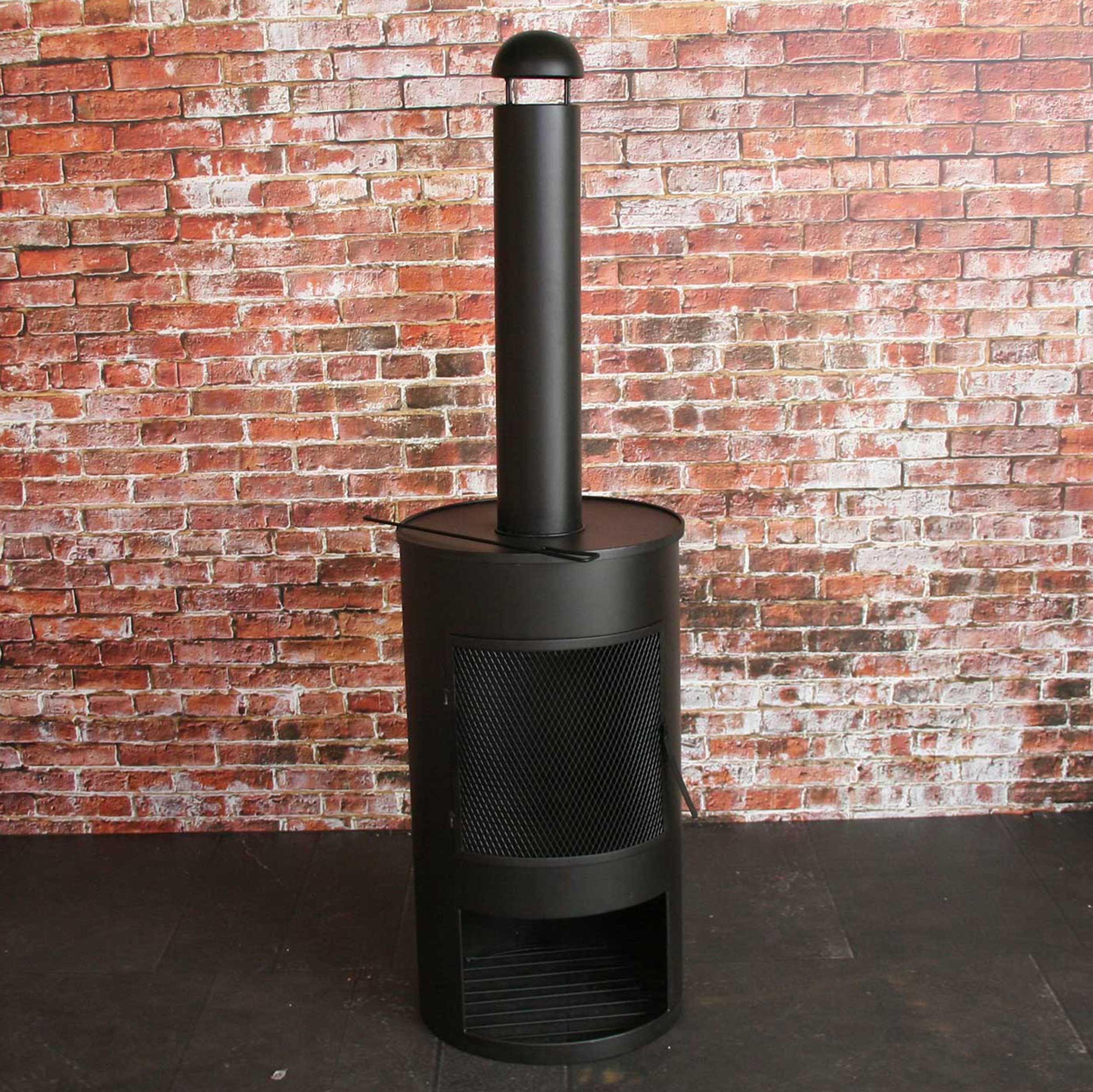 SenS-Line Drumpot Terrassenofen