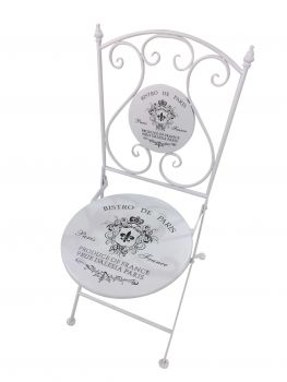 Bistro de Paris chair white
