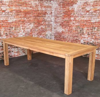 Oxford teak table 240x100cm  FSC Recycled