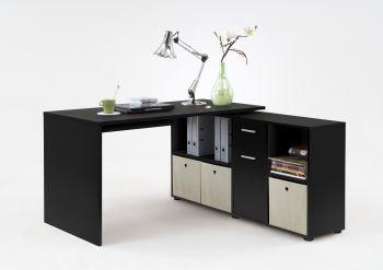 Schreibtisch Lex - schwarz