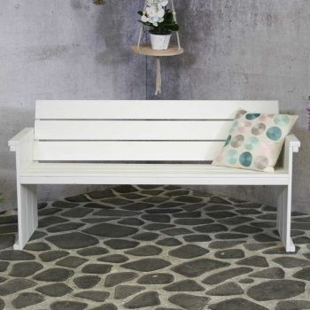 Dijon 3-seater White FSC 100%