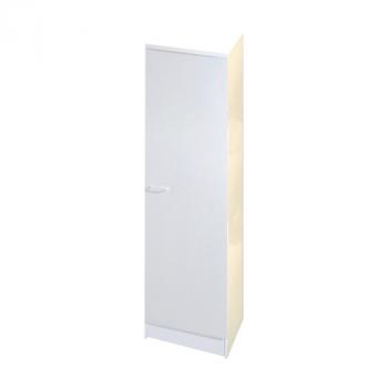 Säulenschrank Bingo 50 cm - weiß