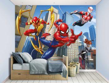 Kindertapete Spinne-Mann