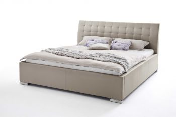 Gestoffeerd bed ISA Comfort - 180x200 cm - modderig