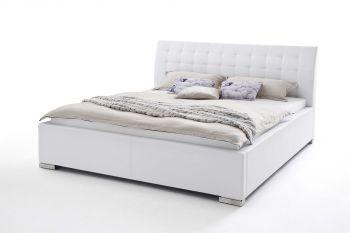 Gedempt bed ISA Comfort - 160x200 cm - Wit