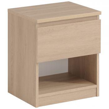 Nachttisch Neo 1 Schublade - Eiche