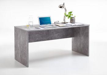 BRICK 1 - Schreibtisch - Beton LA