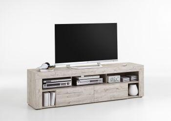VIBIO 2 - TV/Hifi Lowboard bestehend aus 2 Colli - Sandeiche Nb