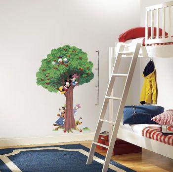 RoomMates Wandsticker - Mickey Mouse Wachstum Chart